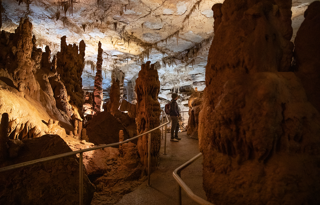 Three Artists View of Cathedral Caverns State Park