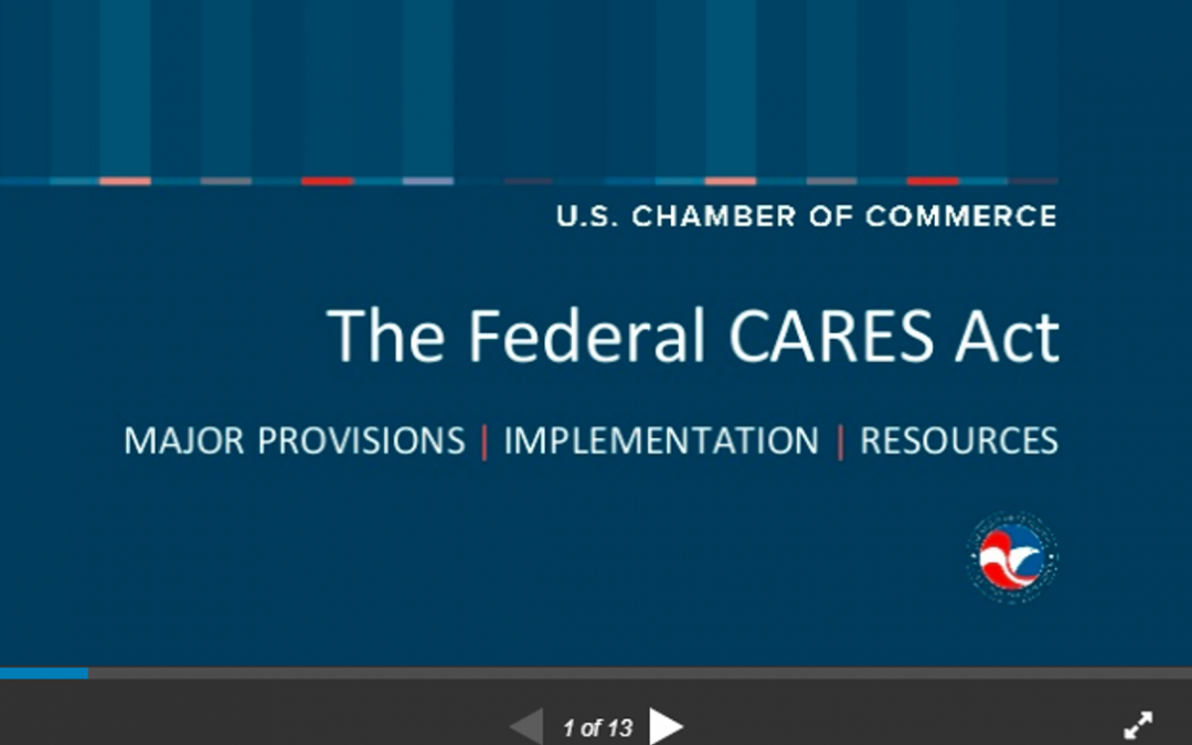 Quick Ways for Small Businesses to Tap Into Care Act Funding